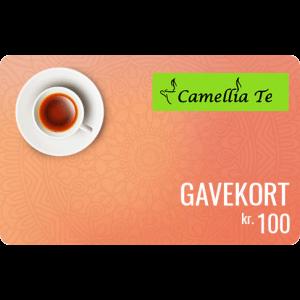 Camellia Te Gavekort 100 kr
