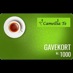 Camellia Te Gavekort 1000 kr