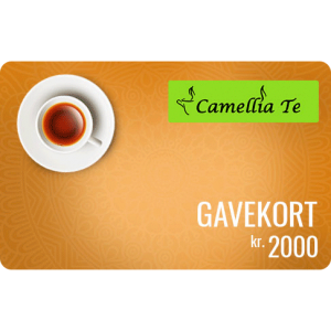 Camellia Te Gavekort 2000 kr