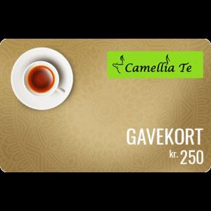 Camellia Te Gavekort 250 kr
