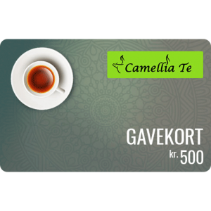 Camellia Te Gavekort 500 kr