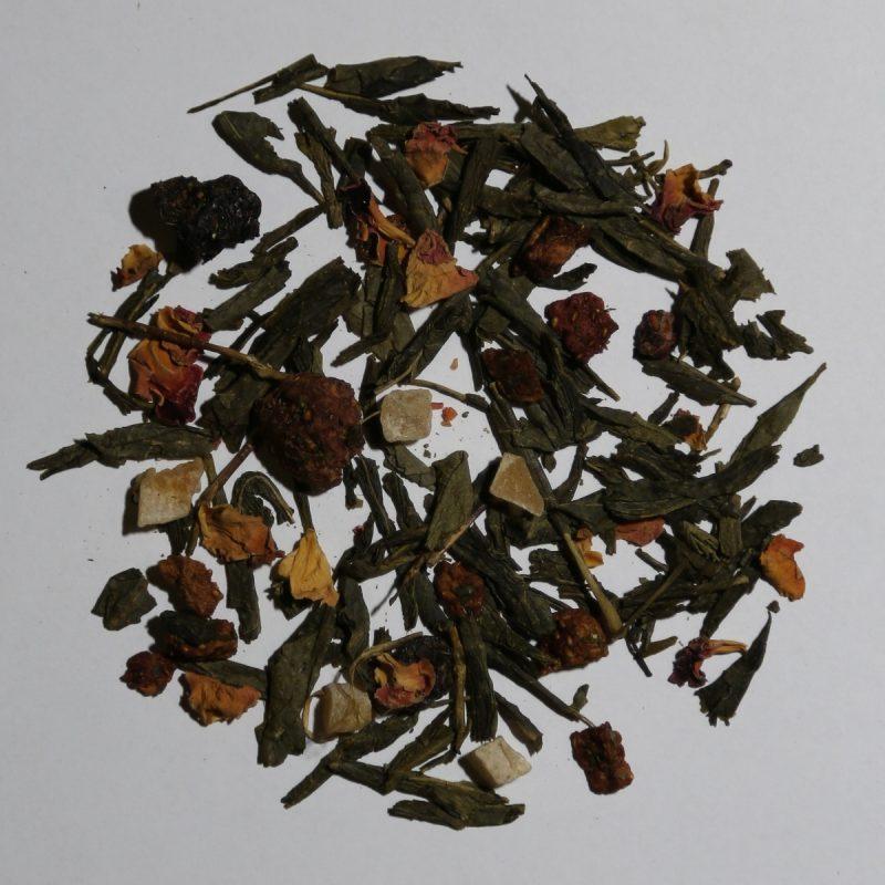 Camellia Te 0423D Grøn te Hindbær
