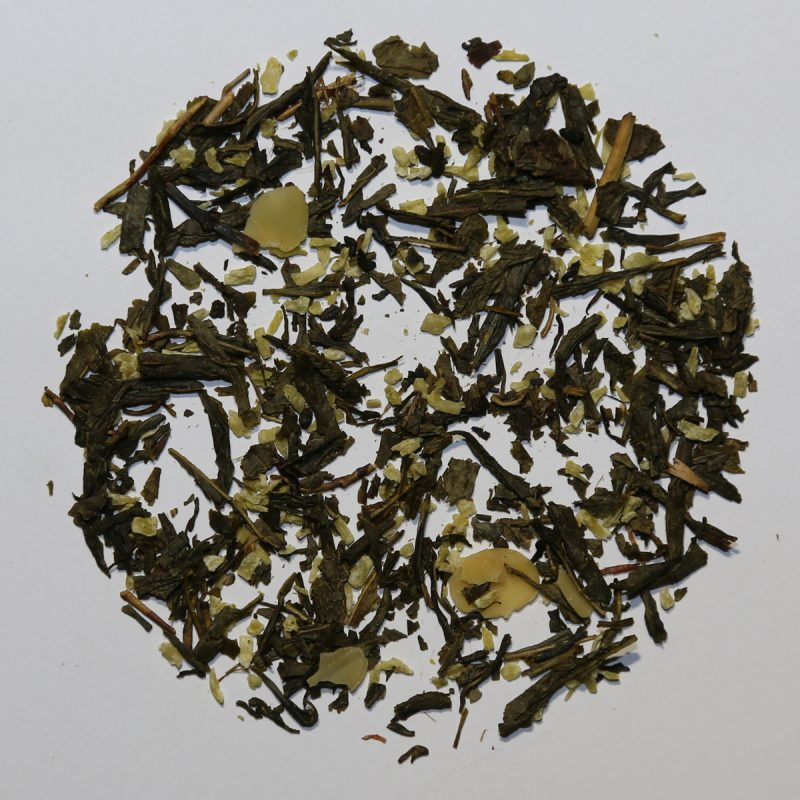 Camellia Te 0433l Grøn Te Kokos & Mandel