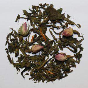 Camellia Te 0611 Grøn Hvid Te Cream Orange