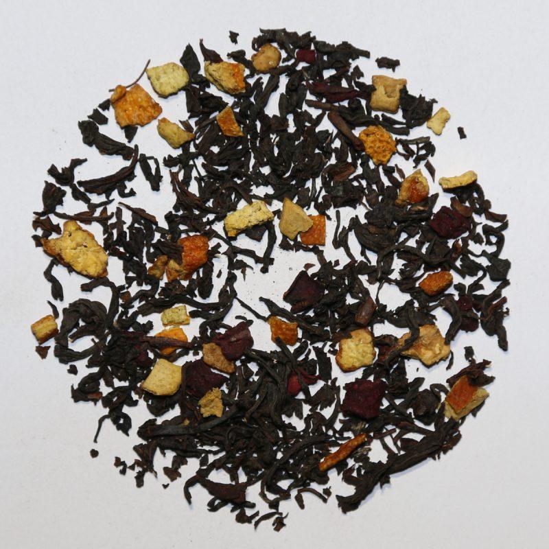 Camellia Te 1410 Sort Te Blodappelsin