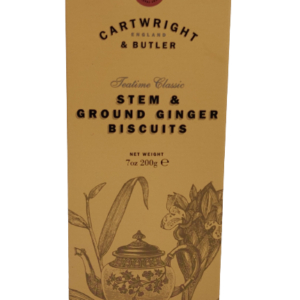 Camellia Te_Cartwright & Butler_Stem & ground ginger biscuits