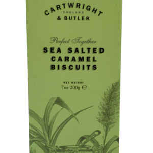 Camellia Te_Cartwright & Butler_Sea salted caramel biscuits