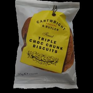 Camellia Te_Cartwright & Butlers_Triple choc chunk biscuits