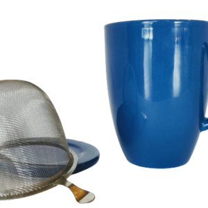 Camellia te_Cobolt blå krus med te si